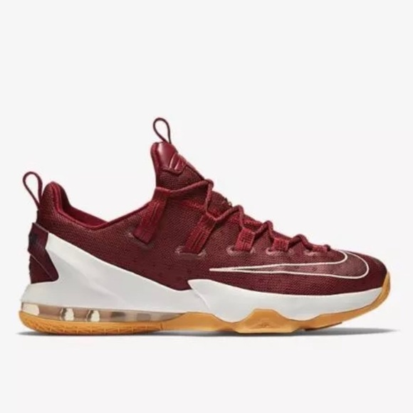 san francisco b690a 61d9d Nike Lebron XIII Low Basketball Cavs Team Red SZ13